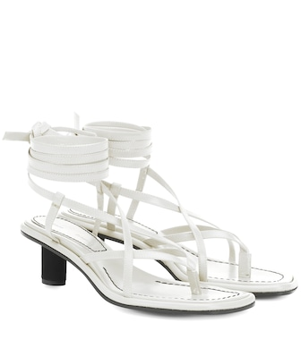 Proenza Schouler - Leather sandals - mytheresa.com