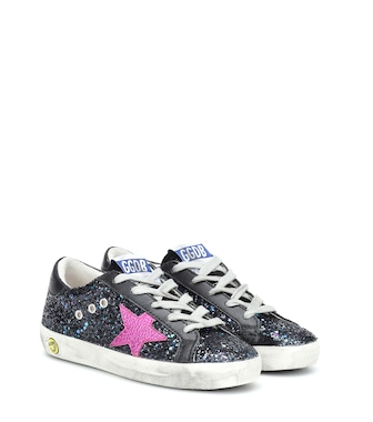 Golden Goose Kids - Superstar glitter sneakers - mytheresa.com