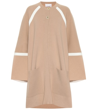 Chloé - Oversized wool and cashmere coat - mytheresa.com