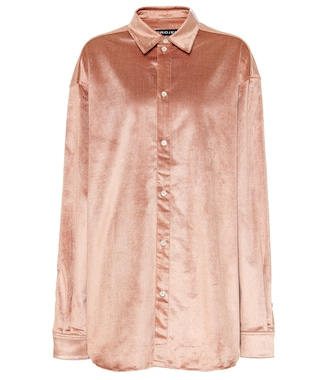 Y/PROJECT - Velvet blouse - mytheresa.com
