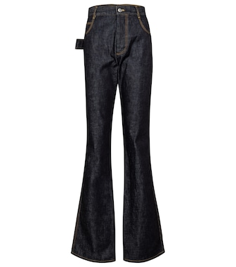 Bottega Veneta - High-Rise Flared Jeans - mytheresa.com
