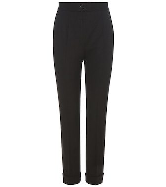 Dolce & Gabbana - Virgin wool trousers - mytheresa.com