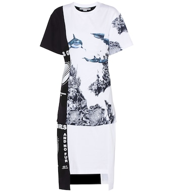 Stella McCartney - Printed cotton-jersey dress - mytheresa.com