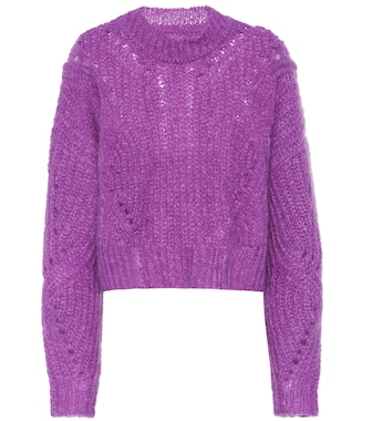 Isabel Marant - Irren mohair and wool-blend sweater - mytheresa.com