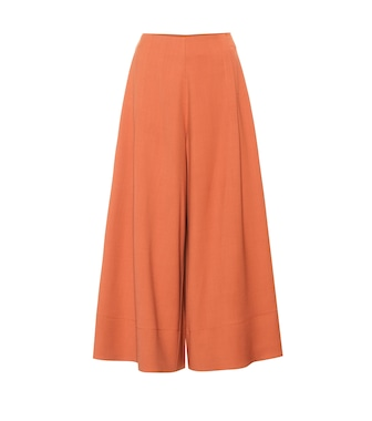 Roksanda - Sienna wool-blend wide-leg pants - mytheresa.com