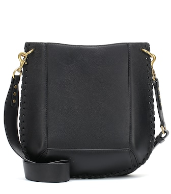 Isabel Marant - Oskan leather crossbody bag - mytheresa.com