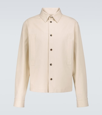 Bottega Veneta - Cotton twill long-sleeved shirt - mytheresa.com