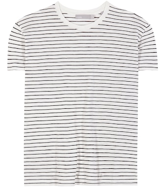 Vince - Striped cotton T-shirt - mytheresa.com