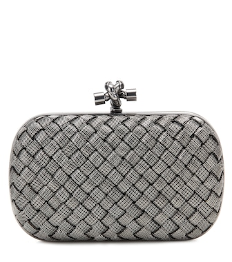 Bottega Veneta - Knot box clutch - mytheresa.com