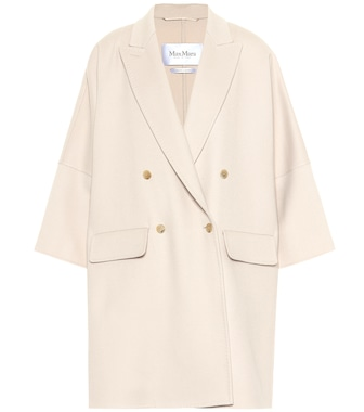 Max Mara - Fibra wool and angora coat - mytheresa.com