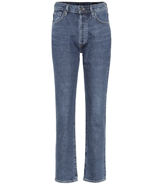 Goldsign - Jeans rectos The Benefit de tiro alto - mytheresa.com