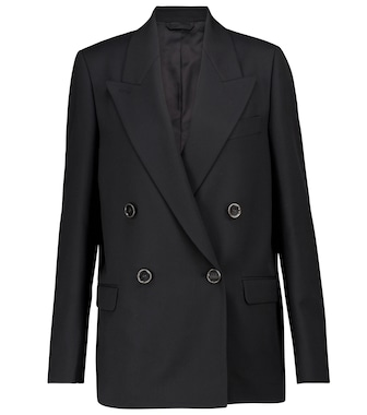 Acne Studios - Double-breasted blazer - mytheresa.com