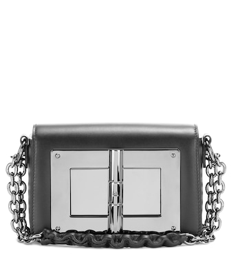 Tom Ford - Natalia Small leather shoulder bag - mytheresa.com
