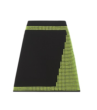 Christopher Kane - Embellished virgin wool miniskirt - mytheresa.com