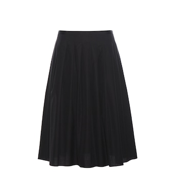 Vince - Pleated cotton skirt - mytheresa.com