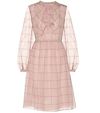 Valentino - Silk dress - mytheresa.com