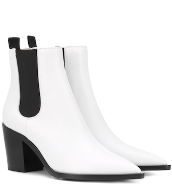 Gianvito Rossi - Austin leather Chelsea boots - mytheresa.com