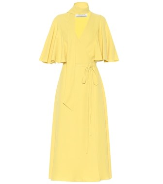 Valentino - Silk crêpe dress - mytheresa.com