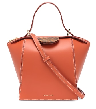 Danse Lente - Adele leather shoulder bag - mytheresa.com