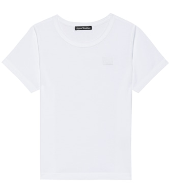 Acne Studios Kids - Mini Nash Face cotton T-shirt - mytheresa.com