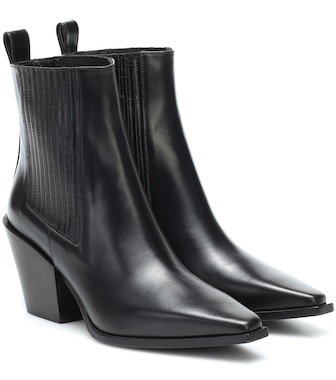 Aeydē - Kate leather ankle boots - mytheresa.com