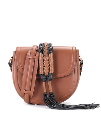 Altuzarra - Ghianda Saddle Knot leather shoulder bag - mytheresa.com