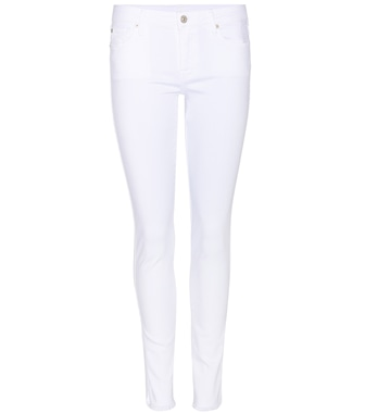 7 For All Mankind - Cropped Jeans Pyper aus Stretch-Baumwolle - mytheresa.com