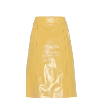 Bottega Veneta - Leather skirt - mytheresa.com