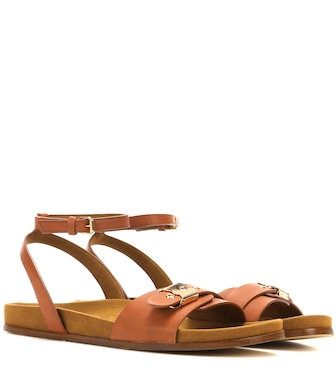 Stella McCartney - Sandales en cuir synthétique - mytheresa.com