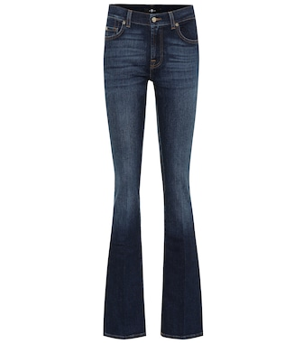 7 For All Mankind - Mid-rise slim bootcut jeans - mytheresa.com