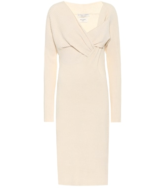 Bottega Veneta - Knit midi dress - mytheresa.com