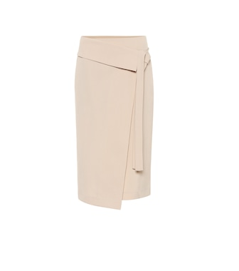 Joseph - Finch wool-blend wrap midi skirt - mytheresa.com