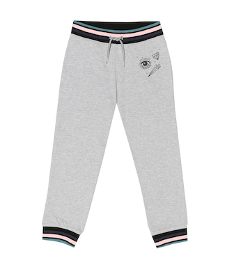 Kenzo Kids - Cotton-blend trackpants - mytheresa.com
