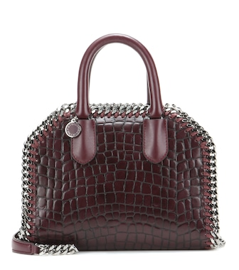 Stella McCartney - Falabella Box Mini embossed tote - mytheresa.com