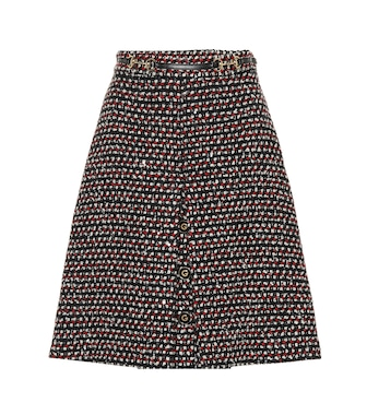 Gucci - Sequined tweed skirt - mytheresa.com