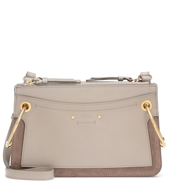Chloé - Roy Mini leather crossbody bag - mytheresa.com