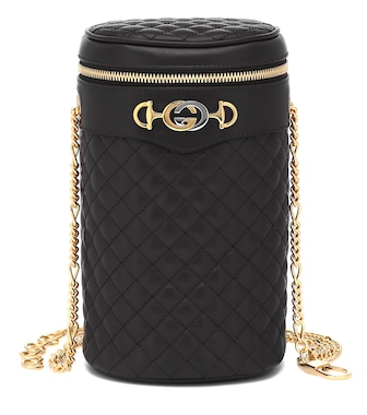 Gucci - Quilted leather belt bag - mytheresa.com