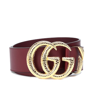 Gucci - GG leather belt - mytheresa.com