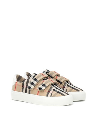 Burberry Kids - Markham Vintage Check sneakers - mytheresa.com