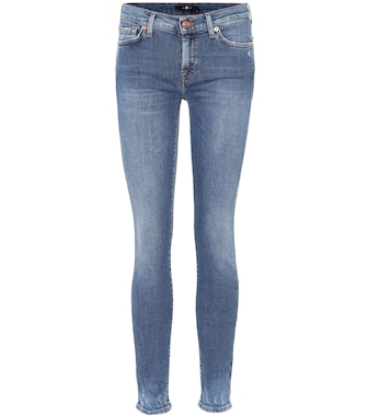 7 For All Mankind - Mid-rise skinny jeans - mytheresa.com