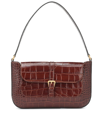 By Far - Miranda leather shoulder bag - mytheresa.com