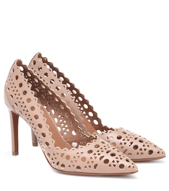 Alaïa - Leather pumps - mytheresa.com