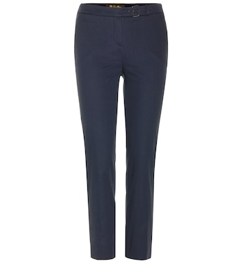 Loro Piana - Giles New Baker cropped cotton trousers - mytheresa.com