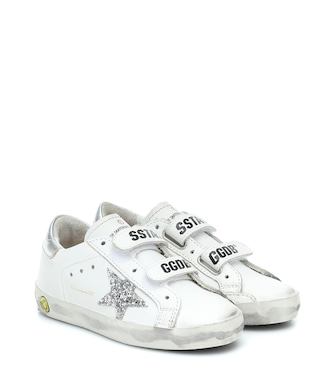 Golden Goose Kids - Old School leather sneakers - mytheresa.com