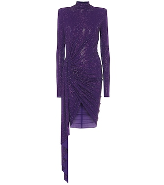 Alexandre Vauthier - Exclusive to Mytheresa – Embellished stretch-crêpe dress - mytheresa.com