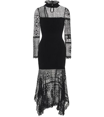 Alexander McQueen - Lace dress - mytheresa.com
