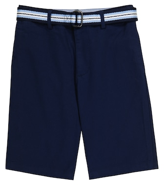 Polo Ralph Lauren Kids - Belted stretch-cotton shorts - mytheresa.com