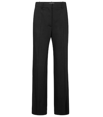 Valentino - Valentino high-rise straight pants - mytheresa.com