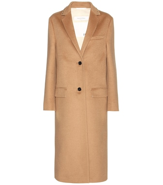 Valentino - Rockstud Untitled wool coat - mytheresa.com