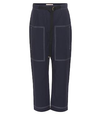 Marni - Cotton trousers - mytheresa.com